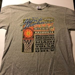 Vintage Y2K NCAA March Madness Final Four Shirt XL